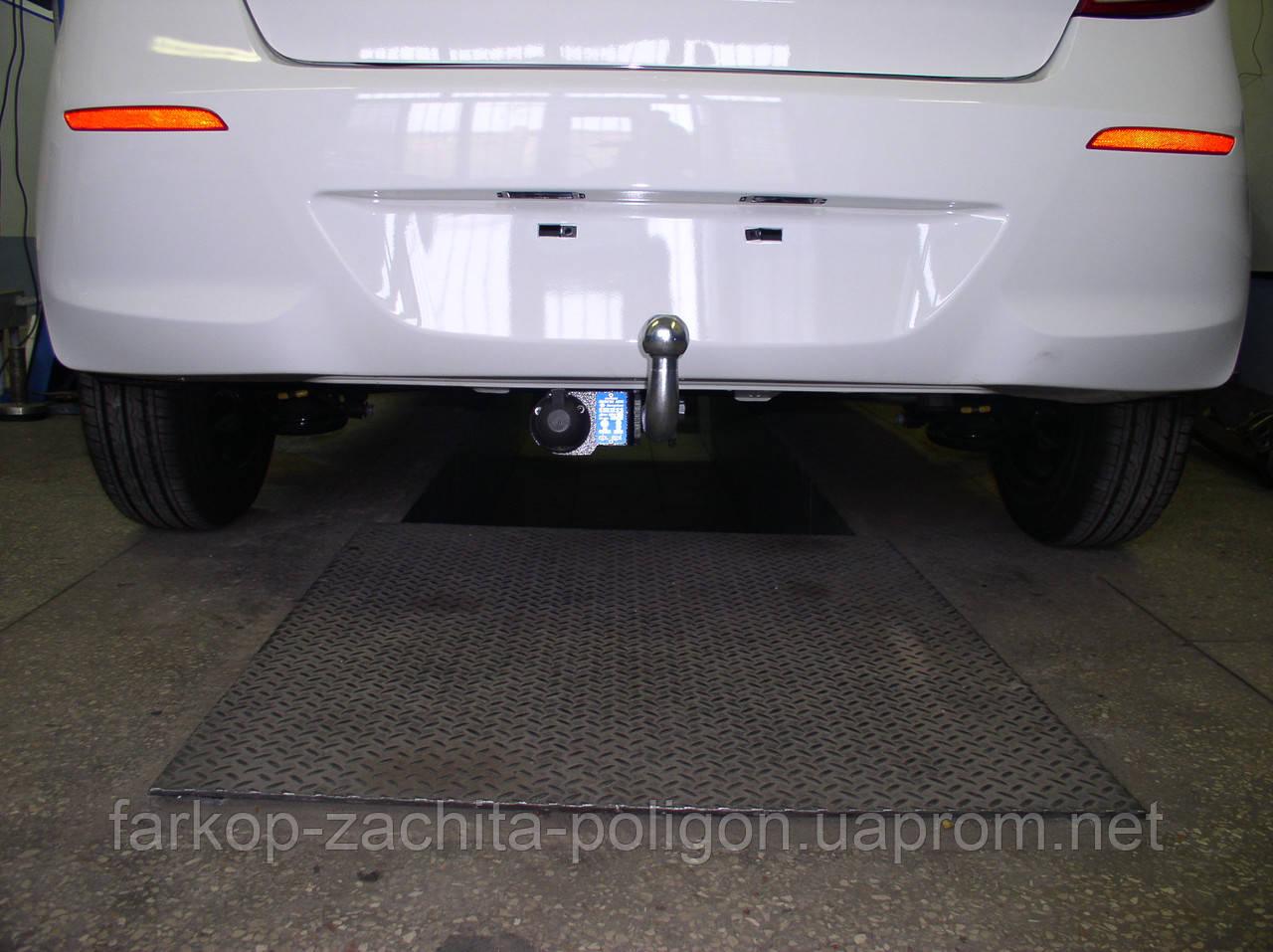 Фаркоп Hyundai I20 (5 дверей хечбек) с 2011 г.