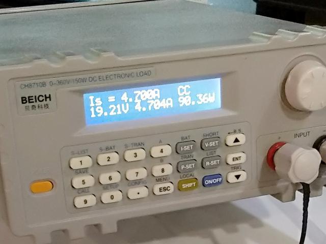 Beich CH8710B показатели в конце теста