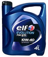 Полусинтетическое моторное масло 10w40 ELF (Эльф) Evolution 700 STI 4л