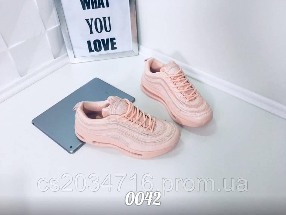 Розовые   женские  кроссовки с силиконовой подошвой 37 38 39  41