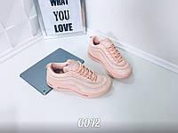 Розовые   женские  кроссовки с силиконовой подошвой 37 38 39  41, фото 1