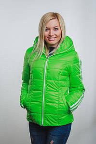 Женская спортивная курточка  салат