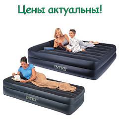 Односпальные и Двуспальные надувные кровати Intex и Bestway