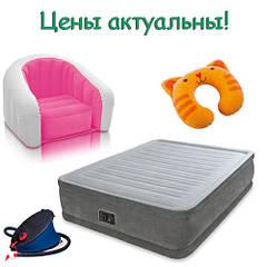 Надувные матрасы, диваны, кровати Intex и Bestway
