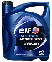 Моторное масло полусинтетика ELF (Эльф)Turbo Diesel 10w40 5л