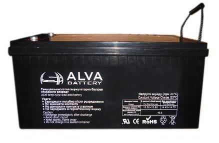 Аккумуляторная батарея ALVA AS12-150 GEL