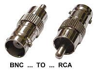 Переходник Тюльпан на BNC мама (RCA-BNC 2)