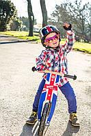 "Беговел 12"" Kiddi Moto Kurve деревянный, британский флаг"