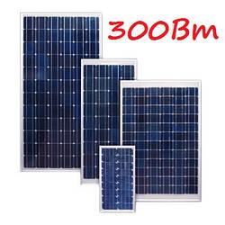 Комплект на солнечную панель 300Вт