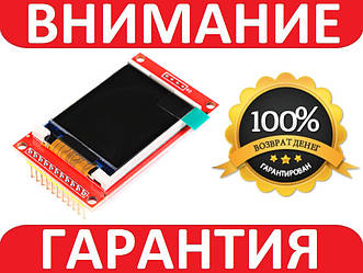 Дисплей TFT цветной 128X160 1.8дюйма