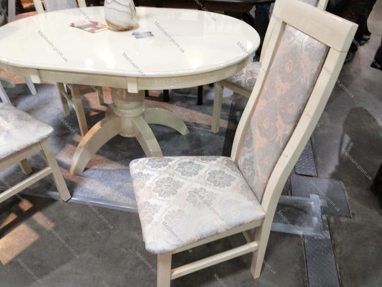 Стул обеденный Катрин Микс мебель, цвет слоновая кость