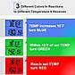 Беспроводной термометр (до 100 м) ThermoPro TP-07 (0-300 °С) в прорезиненном корпусе, фото 6
