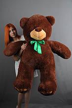 М'яка іграшка ведмедик Веніамін 100 см, шоколад