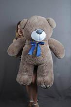 М'яка іграшка ведмедик Веніамін 100 см, капучіно