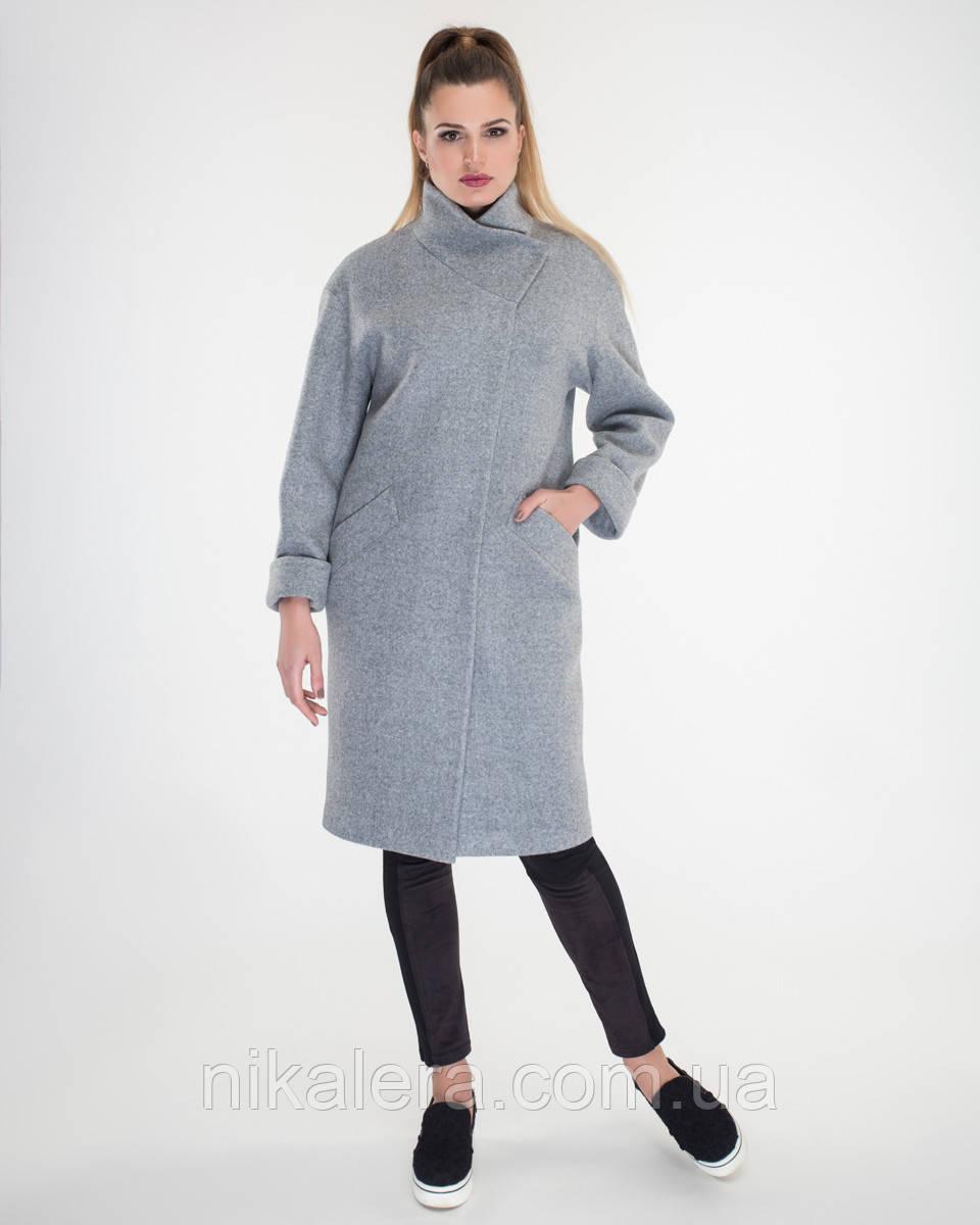 Пальто халатного кроя  рр 50 и 52