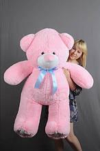 М'яка іграшка ведмедик Веніамін 100 см, рожевий