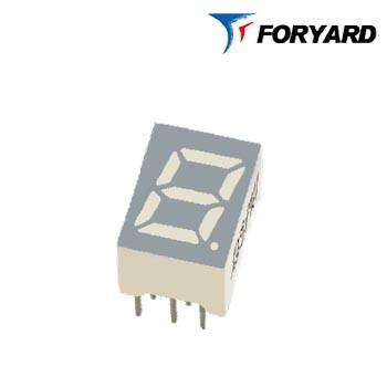 Зеленый семисегментный LED индикатор FYS-3912 BG-21 зеленый, (9,7 x 12,9) 1-разрядный  FORYARD (общий анод)