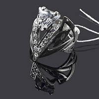 Серебряное широкое кольцо Оракул, фото 1