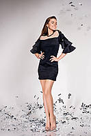 Нарядное платье из замши  JD Белла  в 9 ти цветах