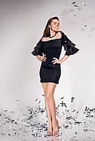 Нарядное платье из замши  JD Белла  в 5ти цветах