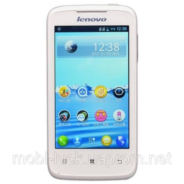 Lenovo A 300T Смарфон.Идеальное качество.Android+Wi-Fi,1 ядерный,4 дюйма,камера 2 Мп.