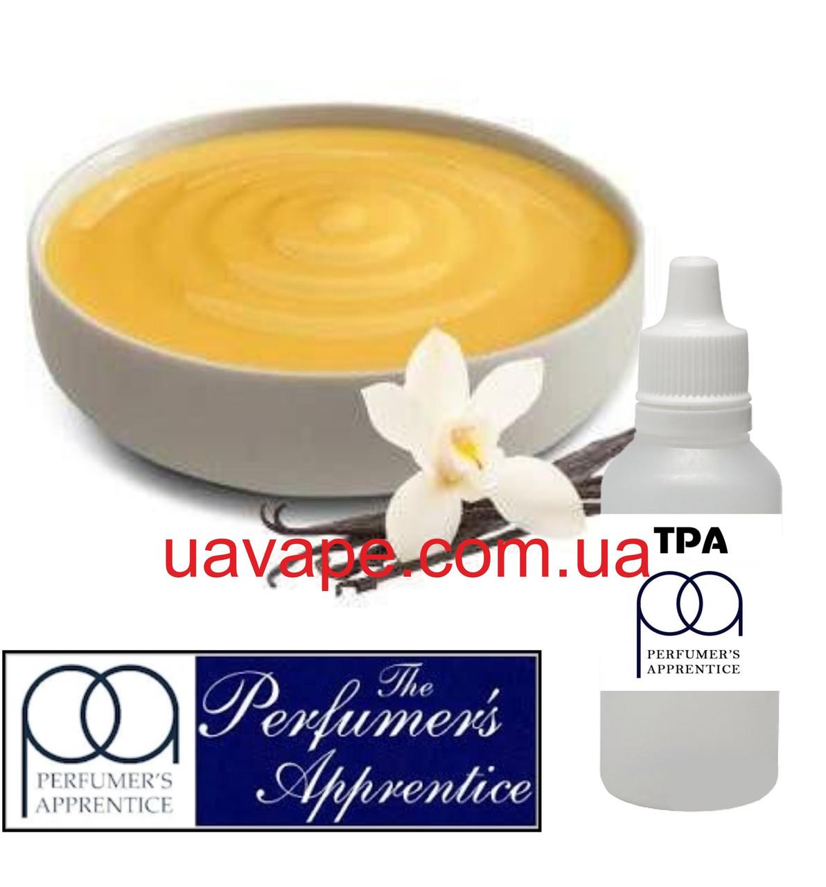Ароматизатор TPA- Vanilla Custard Flavor ТПА Ванильный крем, 10 мл
