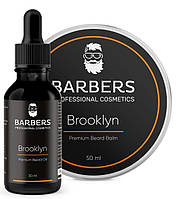 Набір для догляду за бородою Barbers Brooklyn 50+30 мл