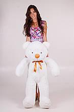 М'яка іграшка ведмедик Рафік 120 см, білий