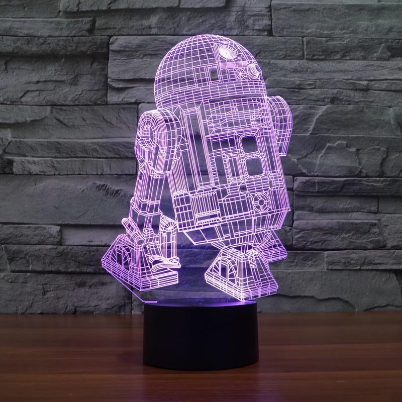 3D светильник 3D Lamp R2D2 (LP-731)