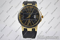 Часы Ulysse Nardin Dual Time Gold-Black годинник