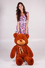 М'яка іграшка ведмедик Рафік 120 см, коричневий
