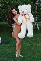 М'яка іграшка ведмедик Рафік 120 см, крем, фото 1