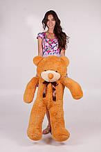 М'яка іграшка ведмедик Рафік 120 см, карамель\світло-коричневий