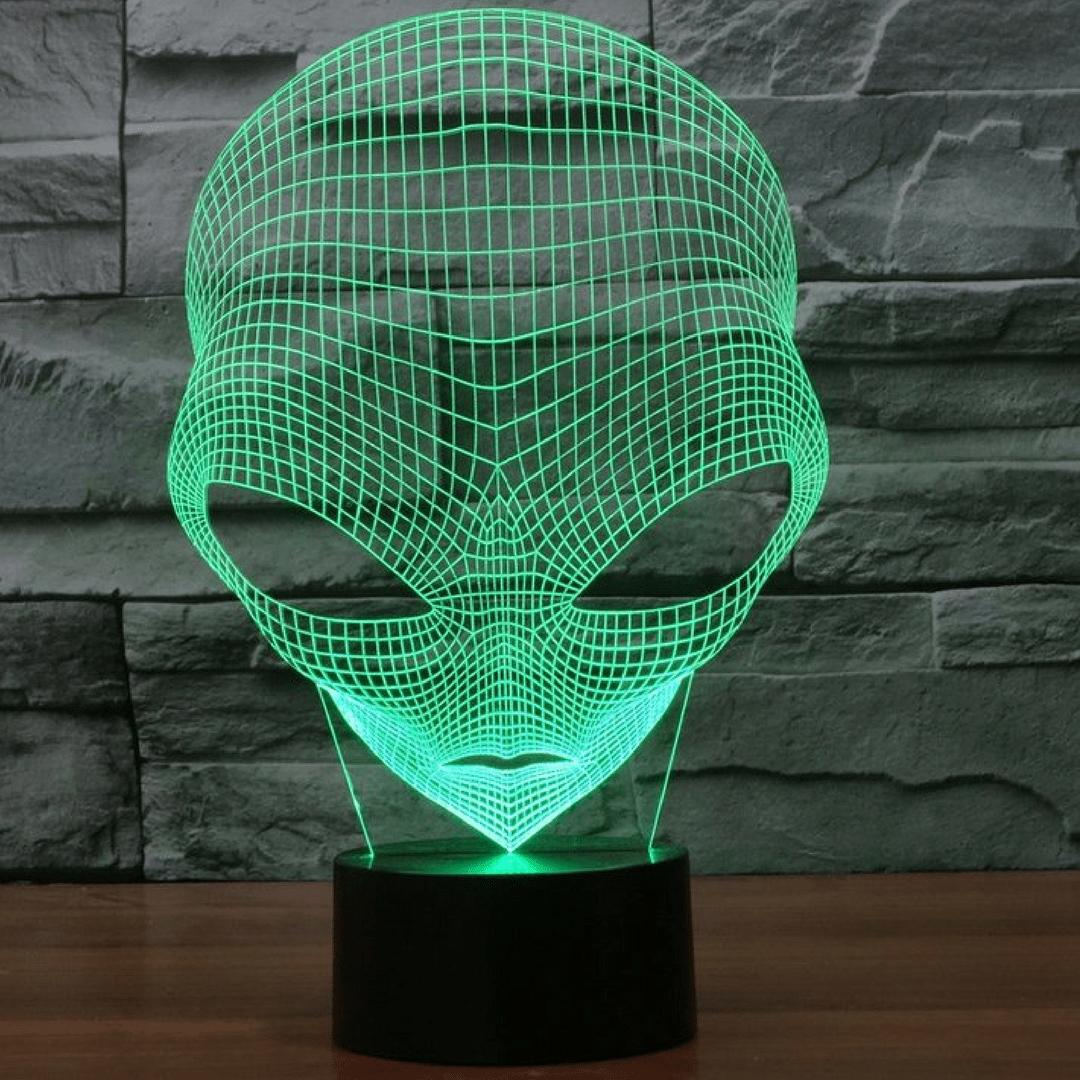 3D светильник 3D Lamp Инопланетянин (LP-1100)