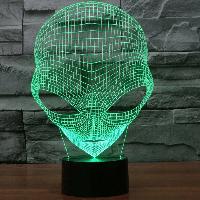 3D светильник 3D Lamp Инопланетянин (LP-1100), фото 1