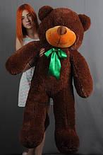 М'яка іграшка ведмедик Рафік 120 см, шоколад