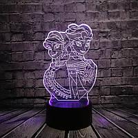3D светильник 3D Lamp Frozen (LP-1190), фото 1