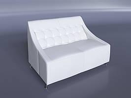 """Офисный диван """"Полис"""" белый"""