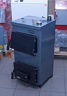 Котел стальной твердотопливный 12,5 КВт