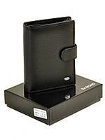 Компактный мужской кошелек Classic из натуральной кожи DR. BOND