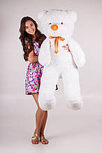 М'яка іграшка ведмедик Рафік 140 см, білий