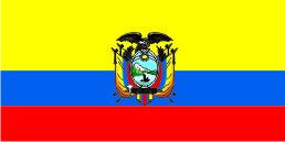 Флаг Эквадора 0,9х1,8 м. материал для уличного применения флажная сетка