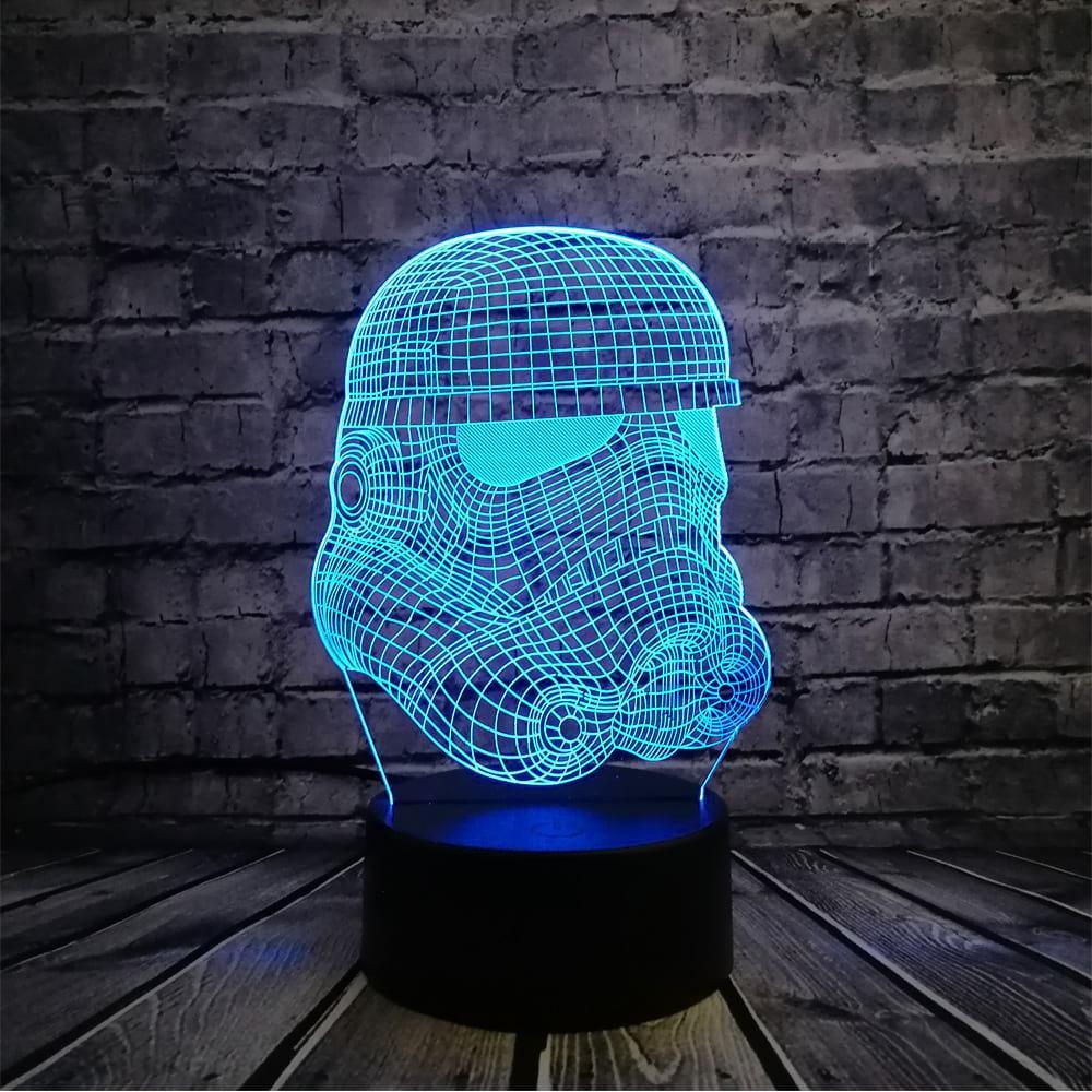 3D светильник 3D Lamp Штурмовик (LP-1262)