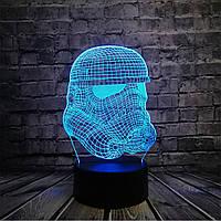3D светильник 3D Lamp Штурмовик (LP-1262), фото 1
