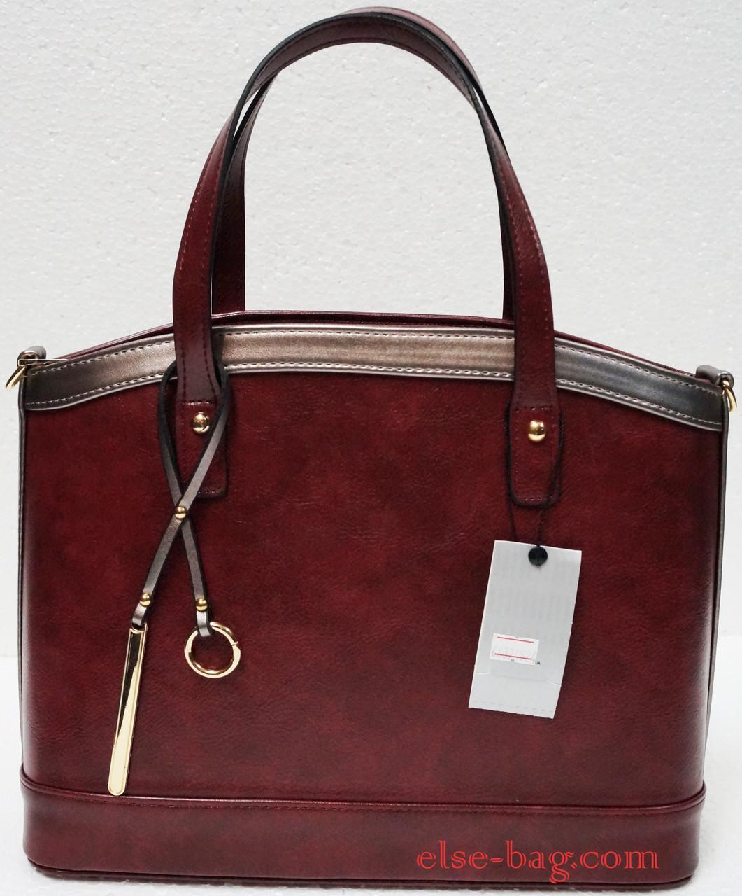 f5ca1fcbc5ec Бордовая каркасная сумка -