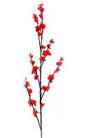 Ветка сакуры красная 55 см