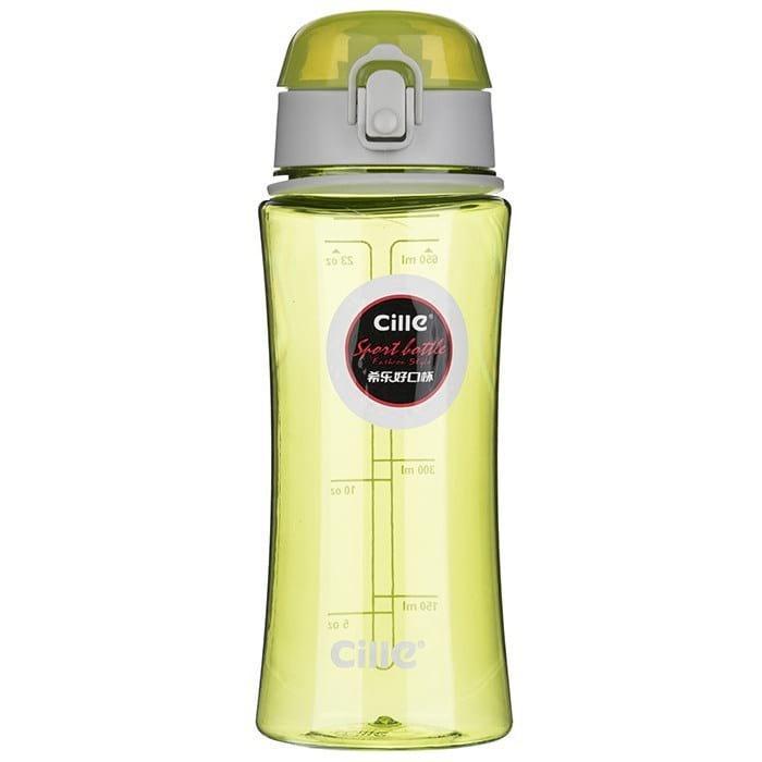 Бутылка для воды Cille 650 зеленая (WB-563)