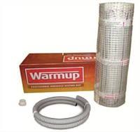 Нагревательный мат для теплого пола PVC 1 2х0,5м, 150Вт WarmUp Великобритания