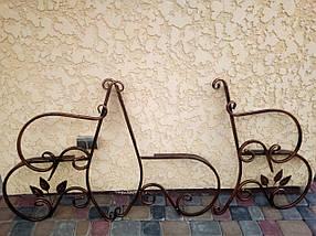 Скамейка садовая боковины кованые 2 шт., фото 3