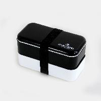 Ланч бокс ME-GO Classic черный-белый (LB-411), фото 1